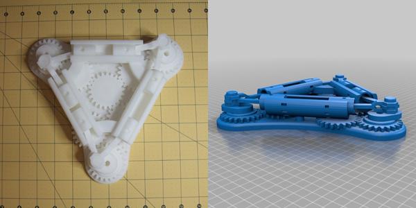 Voorbeeld 3D-printen prototype