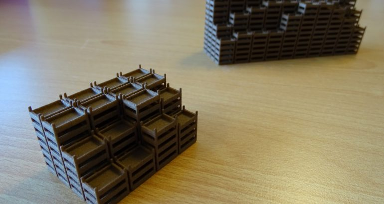3D-printen van schaalmodellen voor architectuur of prototypes
