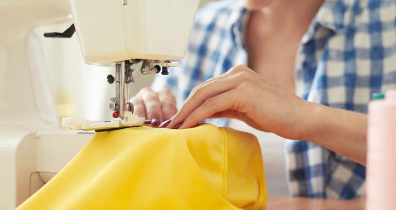 3D-printen ring naaimachine in flexibel kunststof