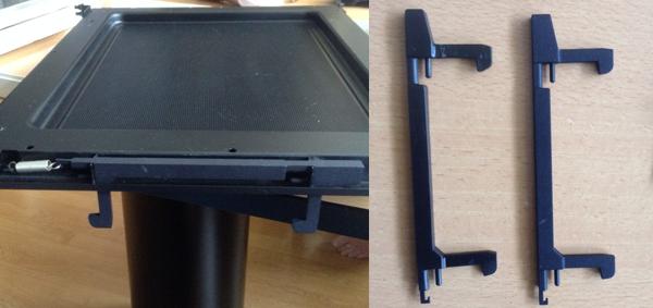 3D-printen onderdeel van magnetron