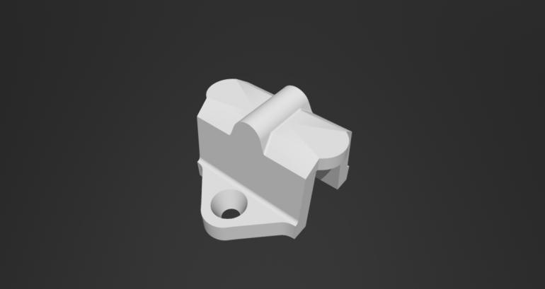 Kapot espagnolet onderdeel 3D-printen