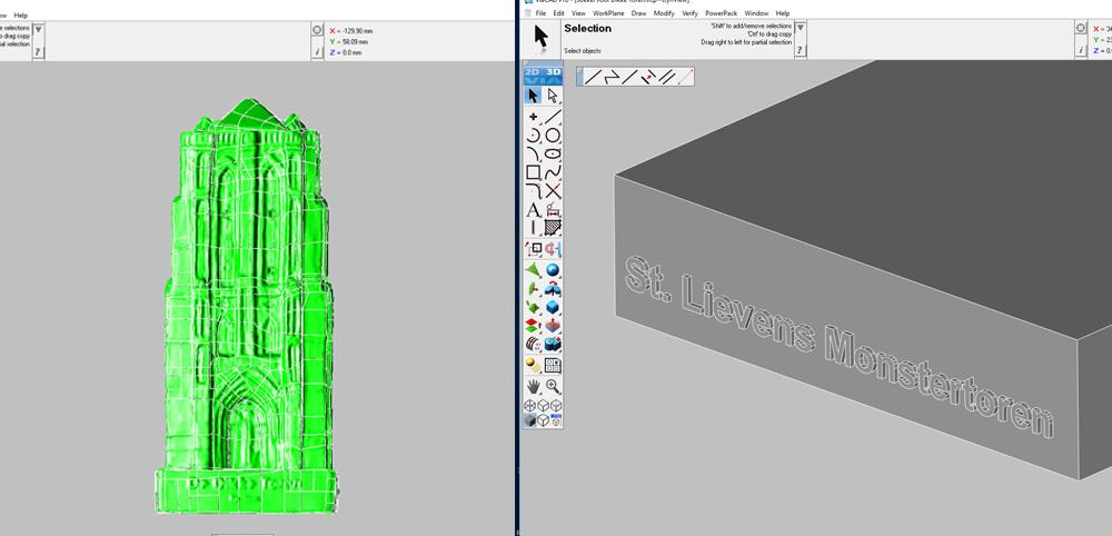 3D-printen Gebouw Toren Zierikzee