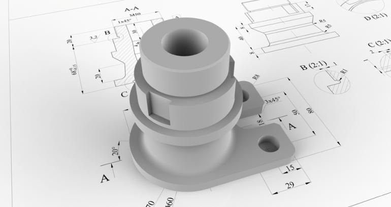 Kapot onderdeel 3D-printen zonder origineel