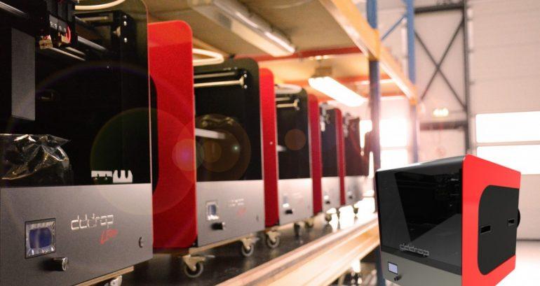 Dddrop-printer in Zeeland, kom bekijken hoe het werkt!