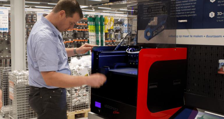 Zo maken wij een 3D-print.