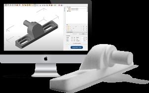 Kapot of beschadigd onderdeel van Uw douchecabine. 3Dlink zorgt voor een nieuwe 3D geprint onderdeel. Wat kost 3D printen?