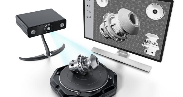 Vanaf nu gebruikt 3Dlink een 3D-scanner